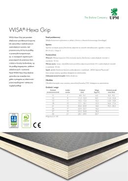 WISA®-Hexa Grip
