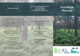 Moczary - Regionalna Dyrekcja Ochrony Środowiska w Rzeszowie