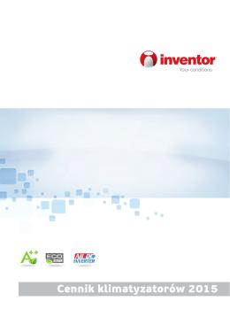 Cennik klimatyzatorów 2015 - inventor