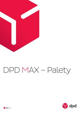 Cennik wysyłek paletowych DPD MAX