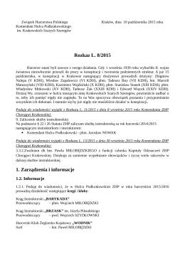 pobierz - Związek Harcerstwa Polskiego