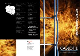 Cablofil Trasy kablowe E90
