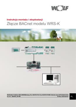 Instrukcja montażu i eksploatacji WRS-K