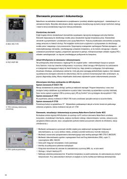 Sterowanie procesami i dokumentacja