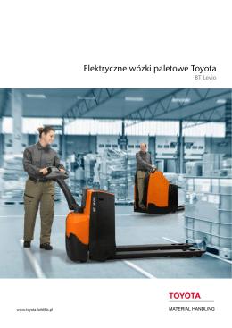 Elektryczne wózki paletowe Toyota