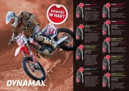 02.03.2015 Nowość oleje do motocykli Dynamax - M-Line