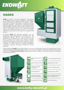 Kocioł HADES - folder A4 - kotły