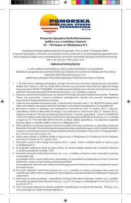 Ogłoszenie o przetargu łącznym 195/PSSE