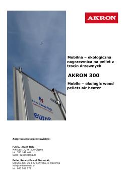 Pobierz folder - mobilna nagrzewnica powietrzna