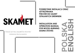 podręcznik instalacji oraz użytkowania pieców do