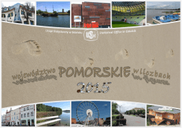 Pomorskie Voivodship in figures 2015