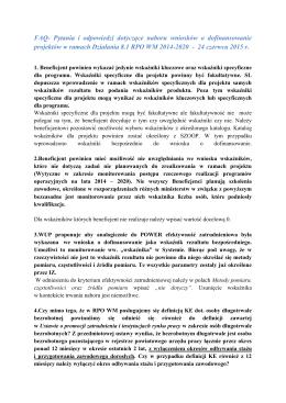 FAQ - Wojewódzki Urząd Pracy w Warszawie