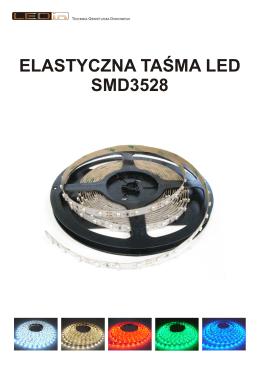 ELASTYCZNA TAŚMA LED SMD3528