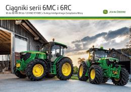 Ciągniki serii 6MC i 6RC