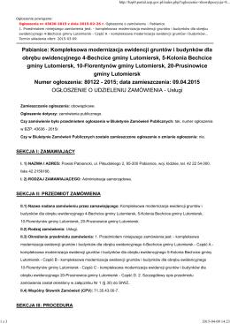 (Część A, B, C, D) - 09.04.2015 - Powiat Pabianicki