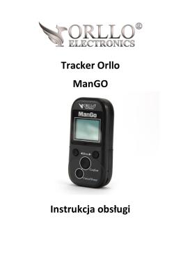Instrukcja lokalizatora ORLLO MAN-GO