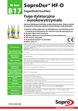 Karta techniczna - PMT