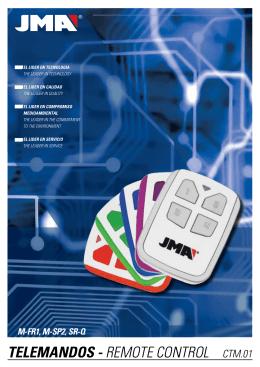 Katalog piloty CTM01