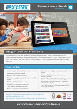 www.netsupportschool.com/windows.asp Organizacja pracy w