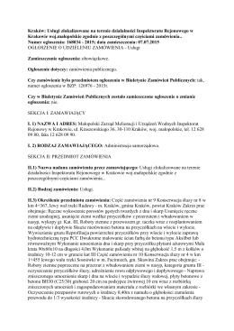 ogł. umowa 9-12 - Małopolski Zarząd Melioracji i Urządzeń