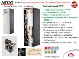 Optiheat Inverta TWW