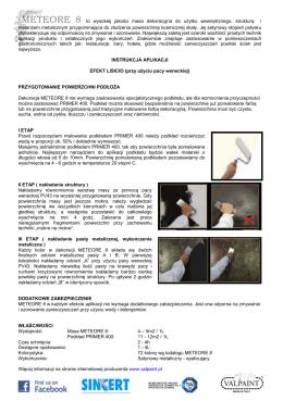 Instrukcja Aplikacji LISCIO