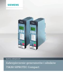 Zabezpieczenie generatorów i silników 7SK80