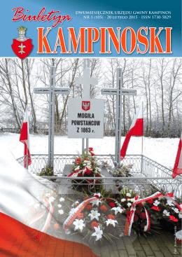 BK 1-105 luty 2015 - Kampinos, Urząd Gminy