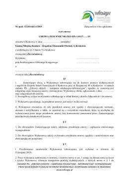 załącznik 4 - Zespół Ekonomiki Oświaty w Krakowie