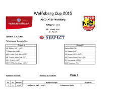 Wolfsberg Cup 2015