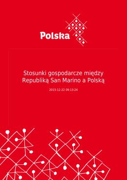 Stosunki gospodarcze między Republiką San Marino a Polską