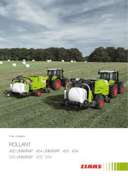 Broszura ROLLANT 455-374/UNIWRAP