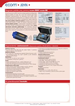 Diagnoza palnika przy pomocy ecom-J2KN i ecom