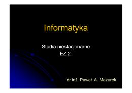 materiał2 - Paweł Mazurek