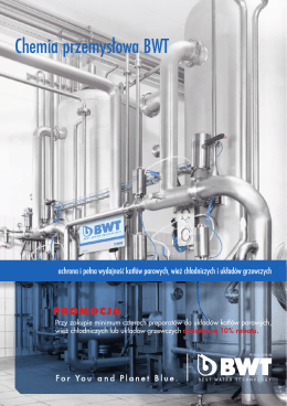 Chemia przemysłowa BWT