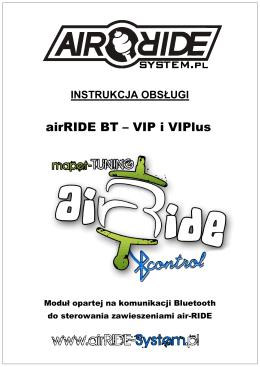 INSTRUKCJA airRIDE BT - wer. 1.4 PL