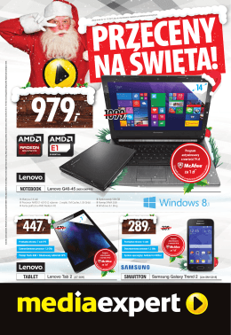 NOTEBOOK TABLET SMARTFON za 1 zł*