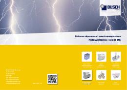 Katalog Ograniczników Przepięć dla Fotowoltaiki