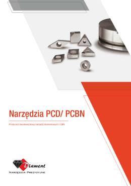 Narzędzia PCD i PCBN do druku
