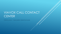 VIAVOX call contact center
