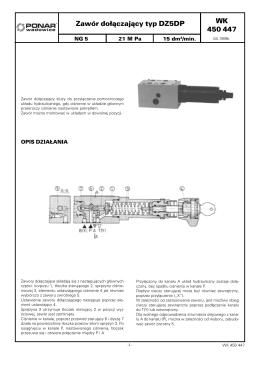 WK 450 447 Zawór dołączający typ DZ5DP