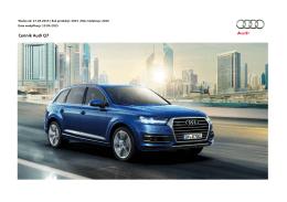 Cennik Audi Q7
