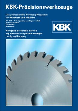 (HM) – Kreissägeblätter - Kirchlengern - KBK Präzisions