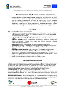 Regulamin - meridium.org.pl