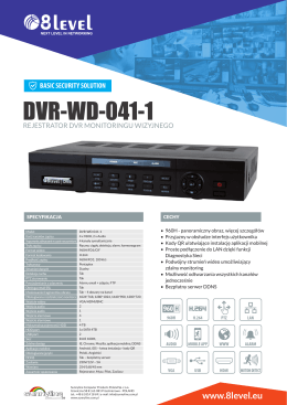 8level DVR-WD-041