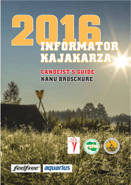 Informator Kajakarza 2016