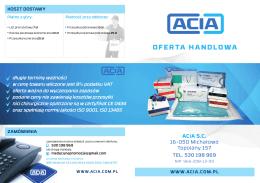 ACIA oferta A4 [3mm] 2014