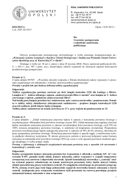 B/02/2015/A Opole, 14.05.2015 r. L.dz. DZP 283/2015 Do