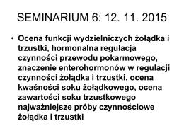 Seminarium 6