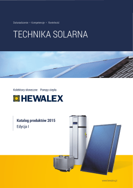 "Katalog ""Technika Solarna 2015"""